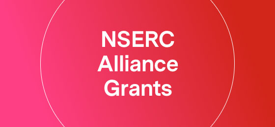 NSERC Alliance Grants